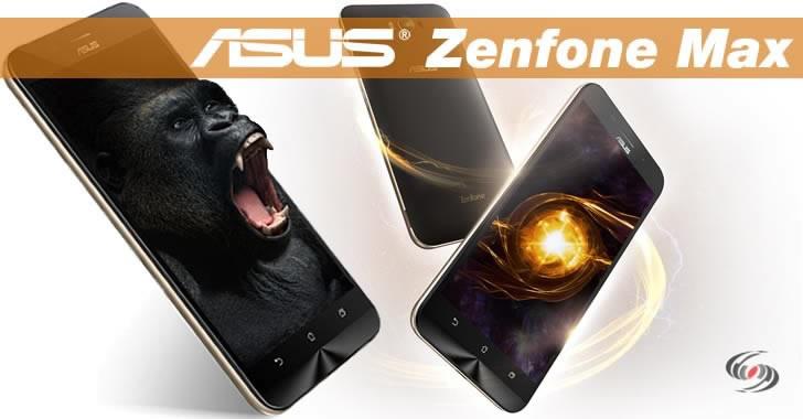Asus Zenfone Max Gorilla Glass 4
