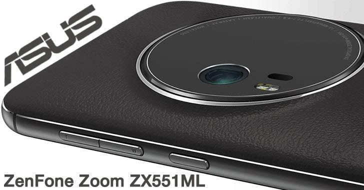 ASUS ZenFone Zoom ZX551ML - 3х оптично увеличение и отлична изработка