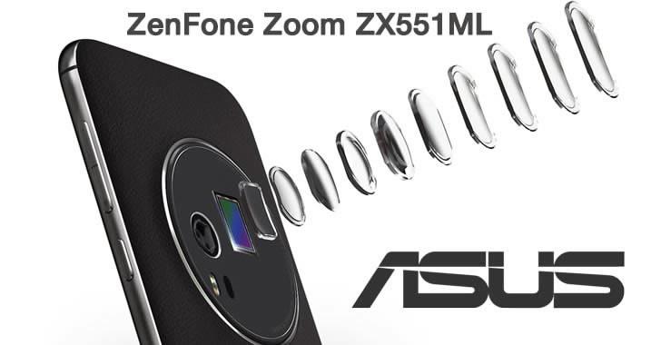 ASUS ZenFone Zoom ZX551ML lens