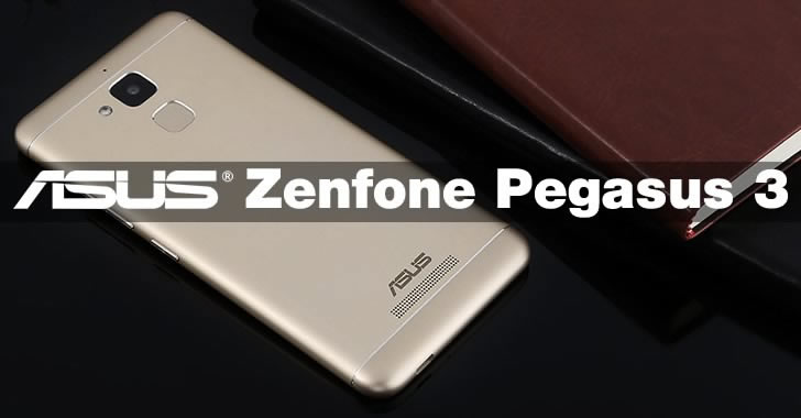 ASUS Zenfone Pegasus 3 back panel