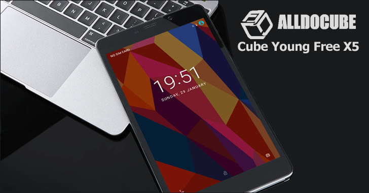 Alldocube / Cube Young Free X5 front