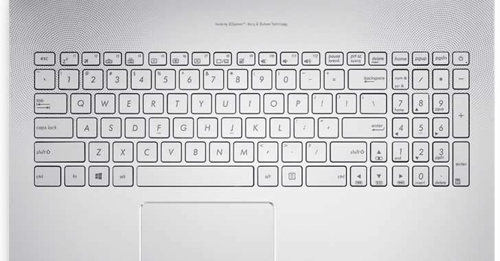 Asus N752VX keyboard