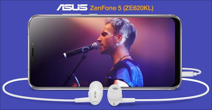Asus ZenFone 5 ZE620KL audio