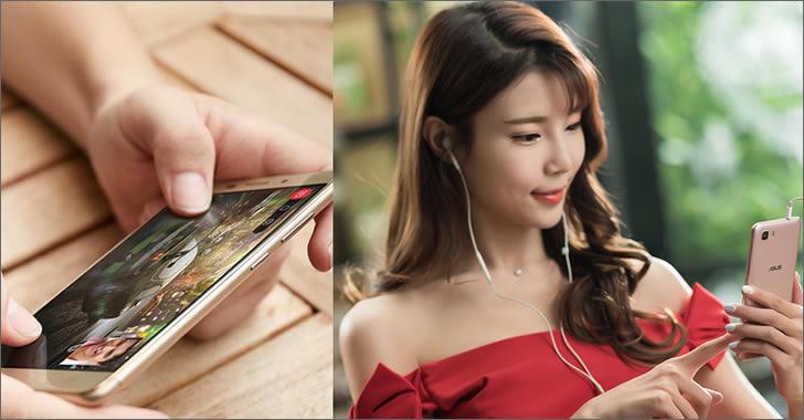 Asus Zenfone 3S MAX ZC521TL close