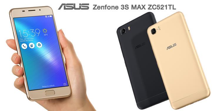 Asus Zenfone 3S MAX ZC521TL hand