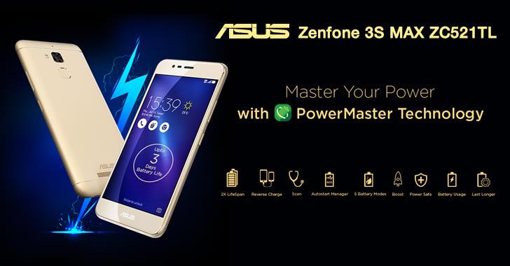 Asus Zenfone 3S MAX ZC521TL - компактен смартфон с отличен живот на батерията