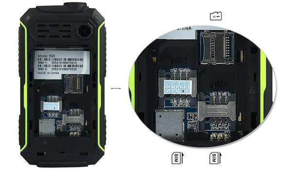 B98 Phone dual sim