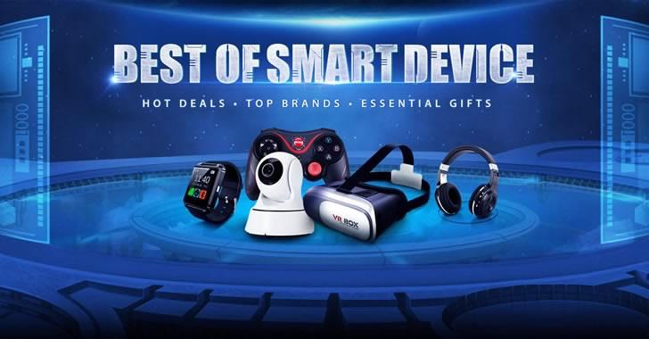 Идеи за смарт подаръци от промоциите на GearBest
