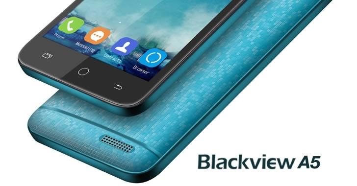 Blackview A5 - много евтин компактен смартфон с Android 6 Marshmallow