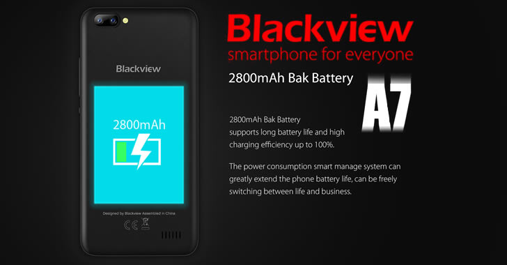 Blackview A7 battery