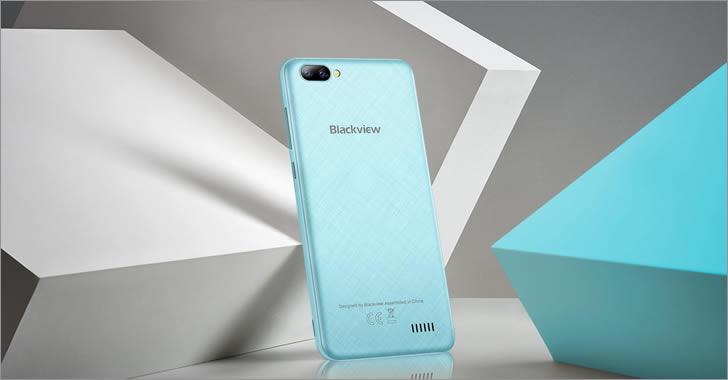 Blackview A7 blue