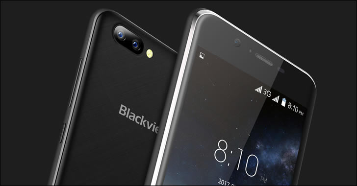 Blackview A7 design