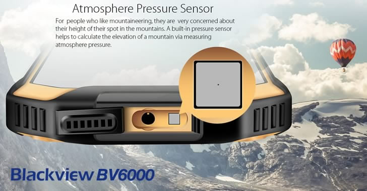 Blackview BV6000 Atmosphere Pressure