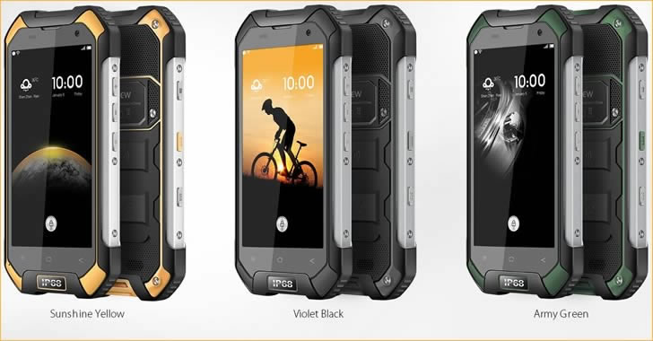 Blackview BV6000 colors