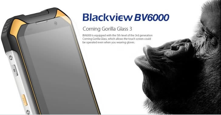 Blackview BV6000 Gorilla Glass