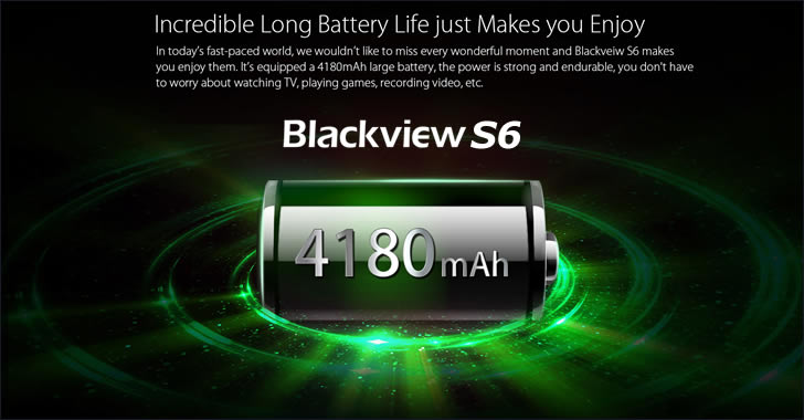 Blackview S6 battery