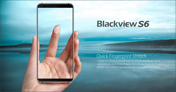 Blackview S6 fingerprint