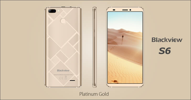 Blackview S6 gold