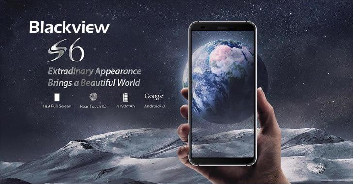 Blackview S6 - евтин смартфон с голяма батерия, двойна камера и 18:9 дисплей
