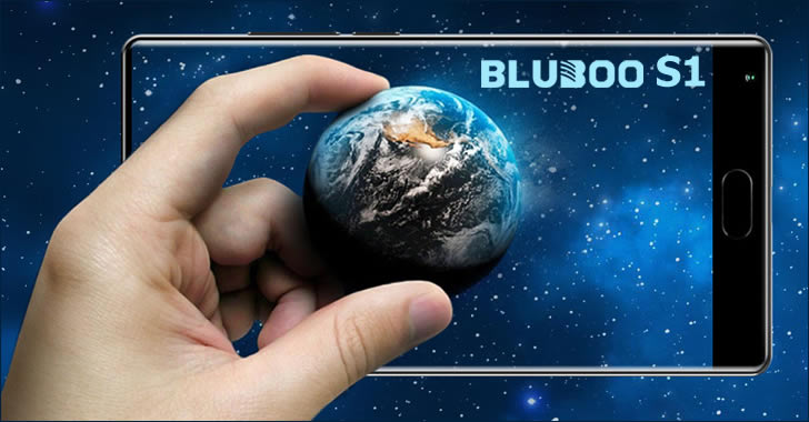 Bluboo S1 earth