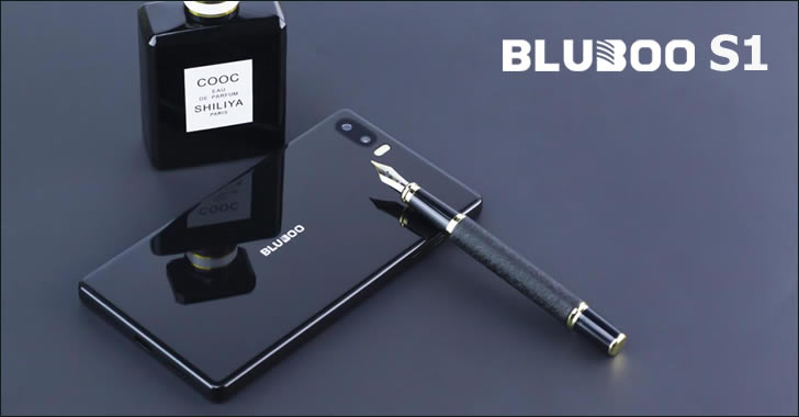 Bluboo S1 back