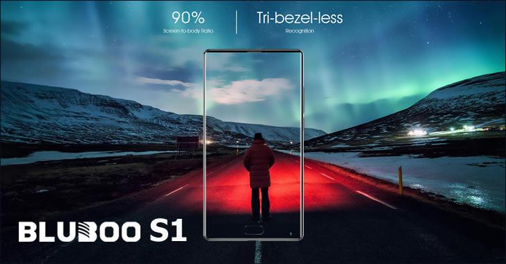 Bluboo S1 display