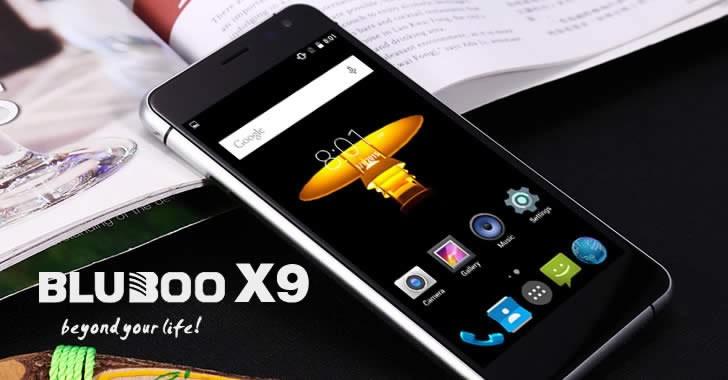Bluboo X9 front