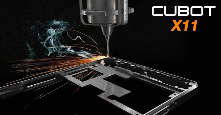 Cubot X11 body