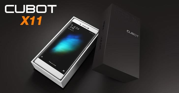 Cubot X11 box