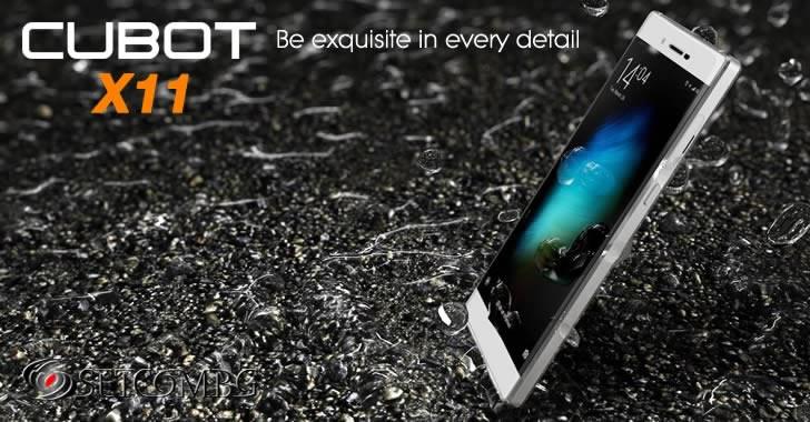 Cubot X11 - ултра тънък смартфон от метал и стъкло с ip65 защита от намокряне