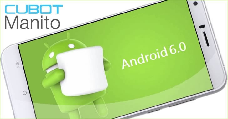 Cubot Manito Android 6