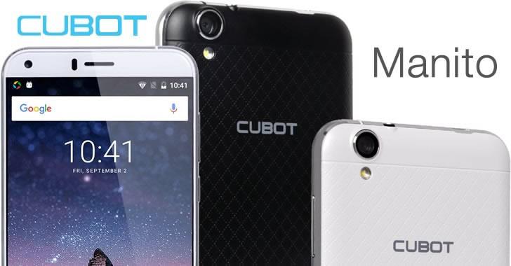 Cubot Manito - бюджетен 4G смартфон с 3GB RAM