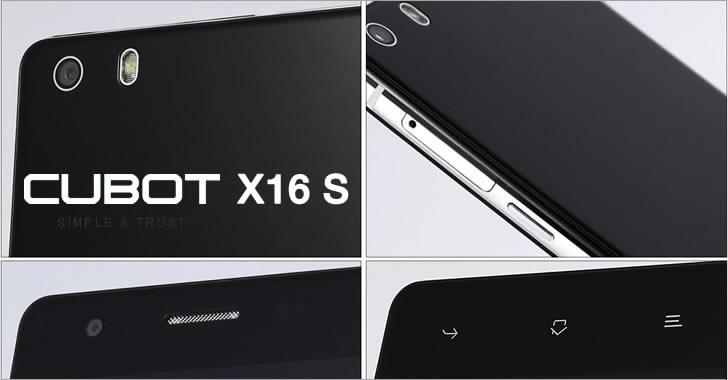 Cubot X16 S details