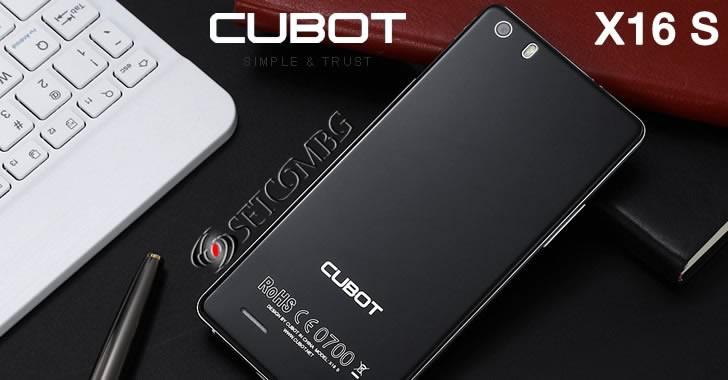 Cubot X16 S - красив 4G смартфон от метал и стъкло