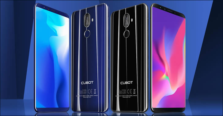 Cubot X18 Plus colors