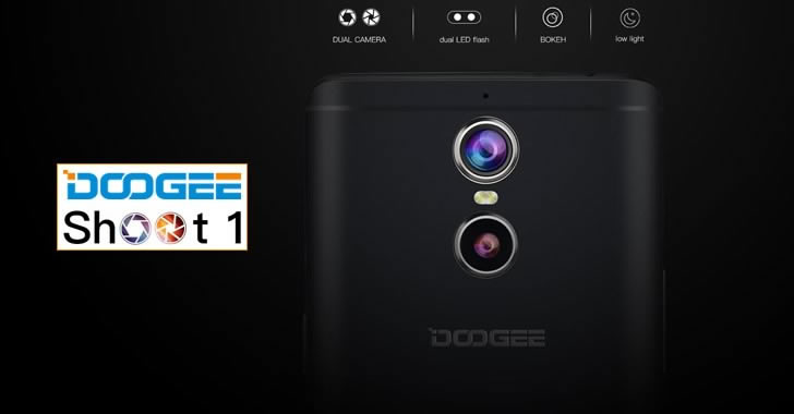 Doogee Shoot 1 camera