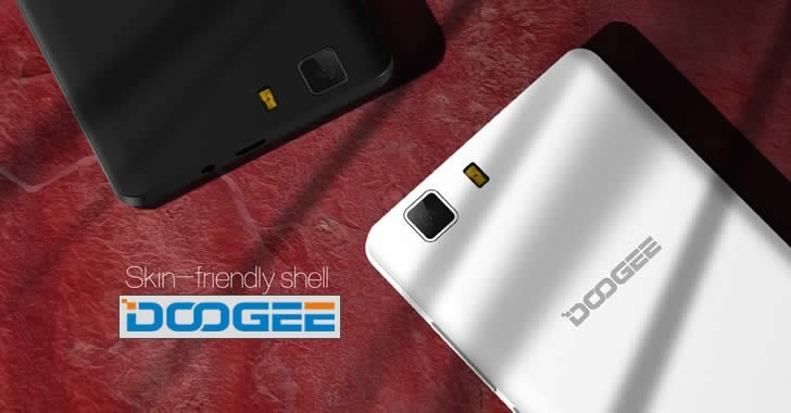 Doogee X5S back panel