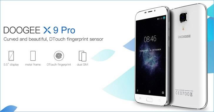 Doogee X9 Pro features