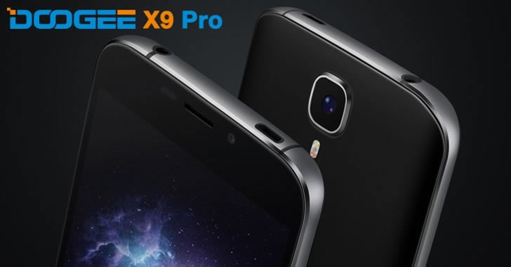 Doogee X9 Pro frame