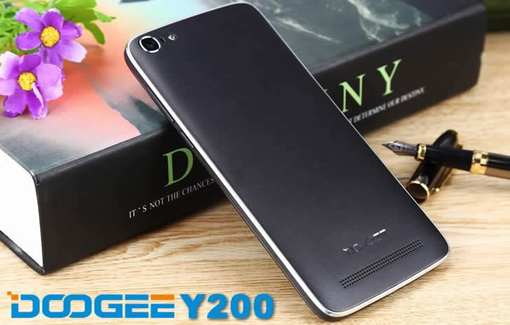 Doogee Y200 back panel
