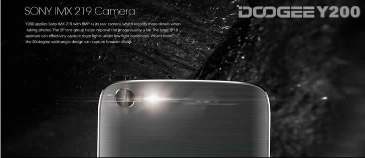Doogee Y200 camera