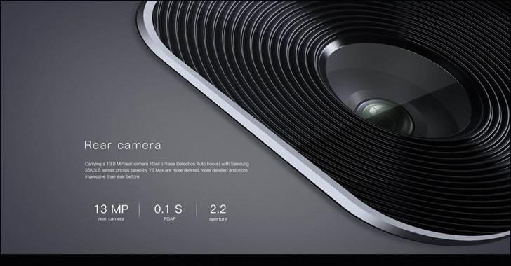 Doogee Y6 Max 3D Camera