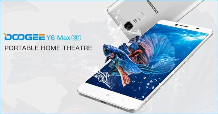 Doogee Y6 Max 3D home theatre