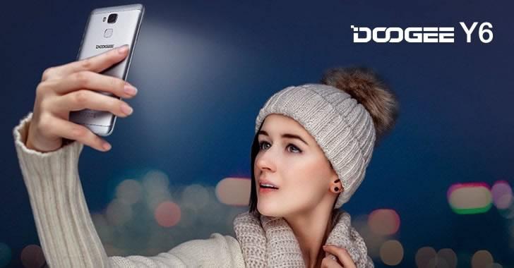 Doogee Y6 selfie