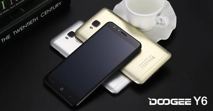 Doogee Y6 - евтин 4G смартфон на склад в Европа