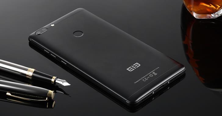 Elephone C1 Max black back