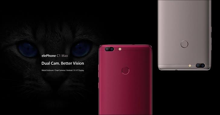 Elephone C1 Max colors