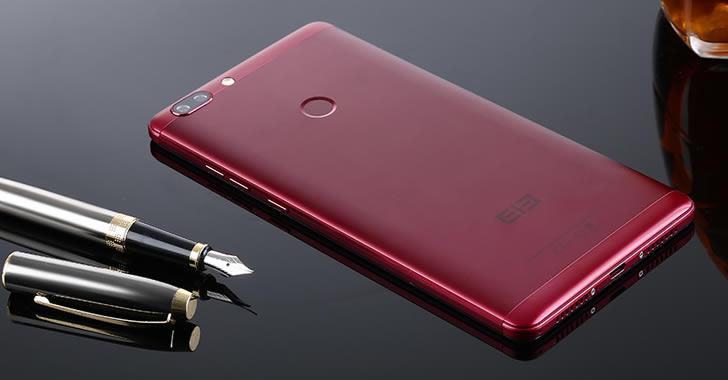 Elephone C1 Max red back