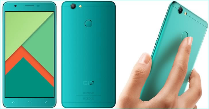 Elephone C1X blue