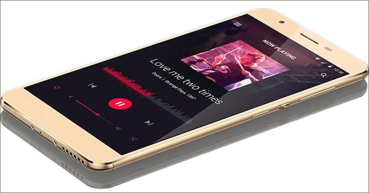 Elephone C1X gold
